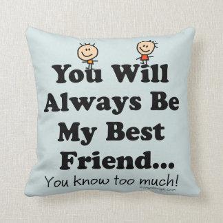 My Best Friend Cushions