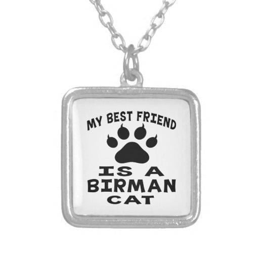 My Best Friend Is A Birman Cat Pendant