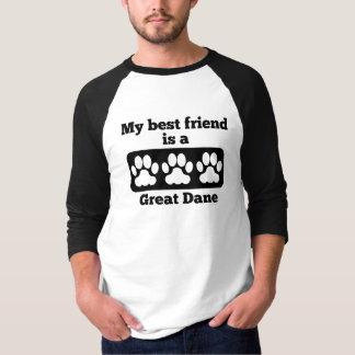 My Best Friend Is A Great Dane Shirts