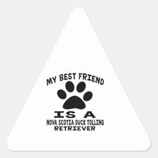 My Best Friend Is A Nova Scotia Duck Tolling Stickers