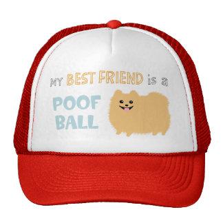 My Best Friend is a POOF BALL - Cute Pomeranian Hat