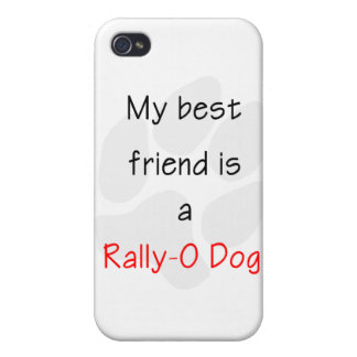 My Best Friend is a Rally-O Dog iPhone 4/4S Cover