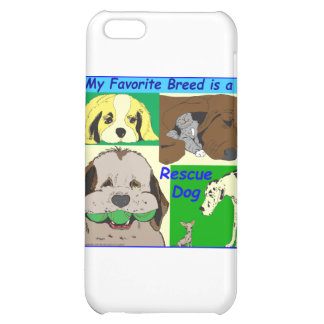 My best friend is a rescue dog iPhone 5C case