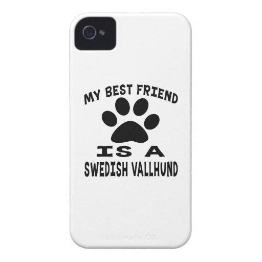 My Best Friend Is A Swedish Vallhund iPhone 4 Case