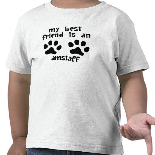 My Best Friend Is An AmStaff Tee Shirts