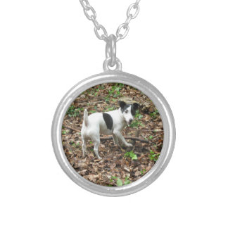 My Best Friend. Silver Plated Necklace