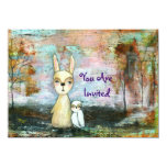 My Best Friend You Are Invited Original Painting Personalised Announcement