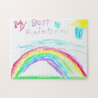 My Best Rainbow by Steven Loy Jigsaw Puzzle