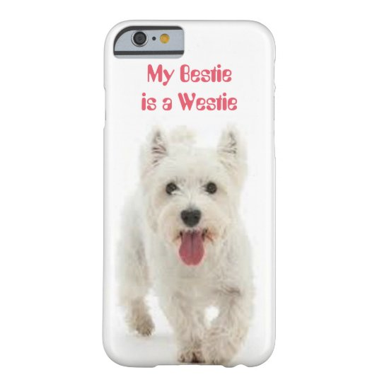 My Bestie is a Westie iPhone Case