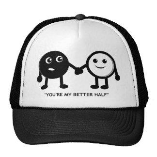 My Better Half Mesh Hats