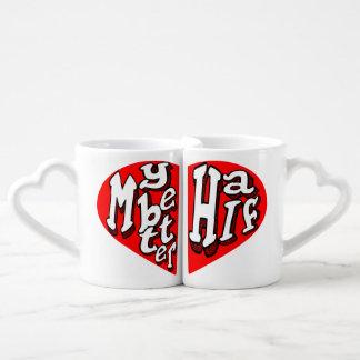 my better half,matching couple mug lovers mug