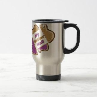 My Better Half Stainless Steel Travel Mug