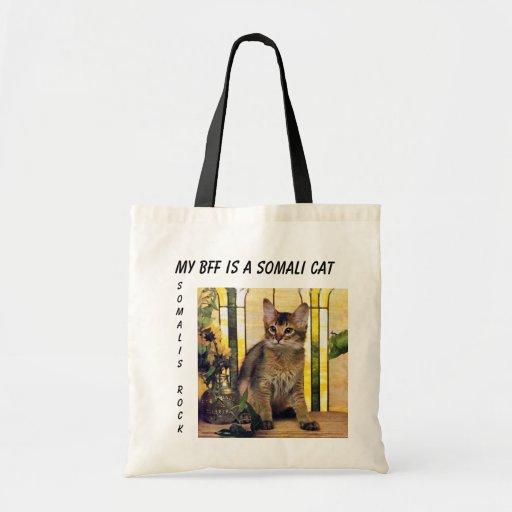 My BFF is a SOMALI Tote Bag