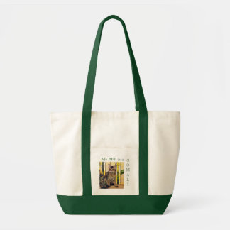 My BFF is a SOMALI CAT Impulse Tote Bag