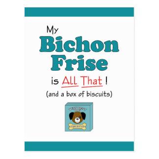 My Bichon Frise is All That! Postcard