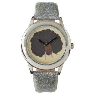 My Big Afro Wristwatch