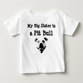 My Big Sister is a Pit Bull childs tshirt