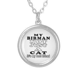 My Birman not just a cat it s my best friend Personalized Necklace