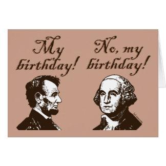 My Birthday Greeting Card