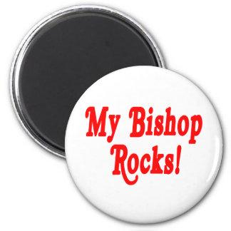 My Bishop Rocks 6 Cm Round Magnet