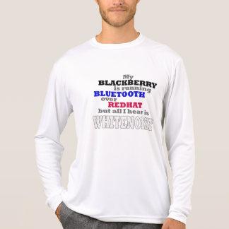 My Blackberry Runs Bluetooth T-shirts