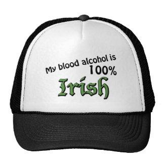 My blood alcohol is 100% Irish Cap