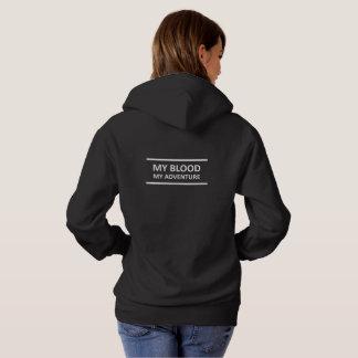 My_Blood_my_Adventure Hoodie