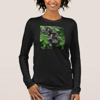 My Blooming Ape Bush Long Sleeve T-Shirt
