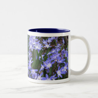 My blue flower mug