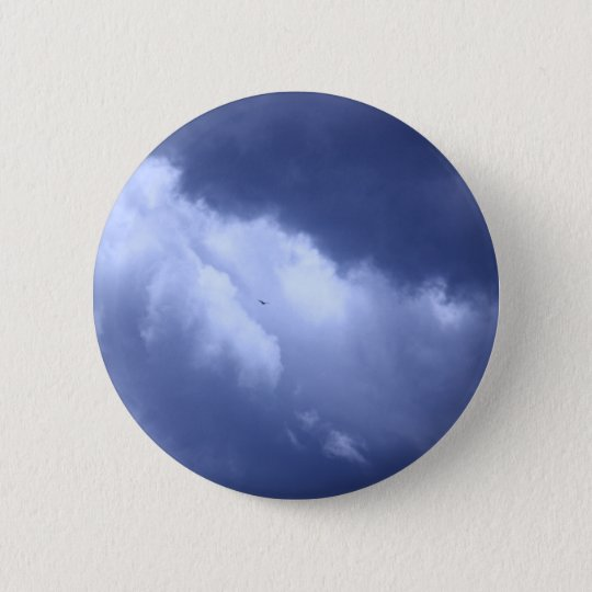 My Blue Heaven 6 Cm Round Badge
