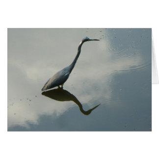 My Blue Heron Note Card