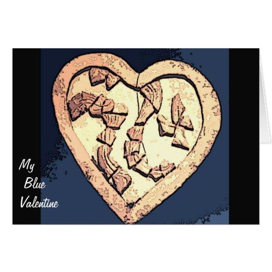 My Blue Valentine Card