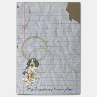 My Bluetick Ate My Lesson Plan Post-it® Notes