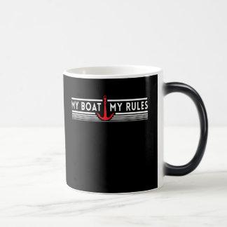 My Boat My Rules Morphing Mug