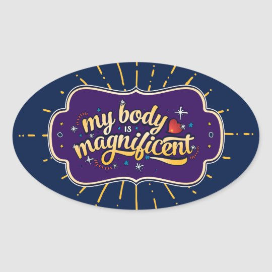 My Body is Magnificent - Stickers