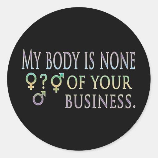 My Body Stickers