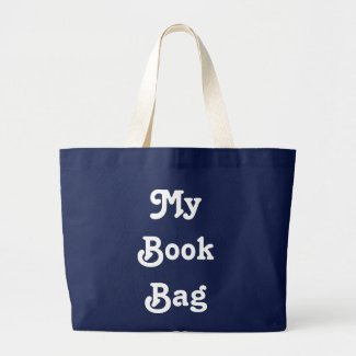 My Book Bag Large Tote