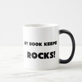 MY Book Keeper ROCKS Coffee Mugs
