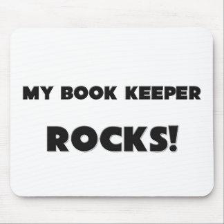 MY Book Keeper ROCKS Mouse Mats
