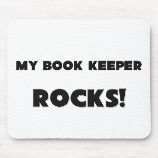 MY Book Keeper ROCKS! Mouse Mats