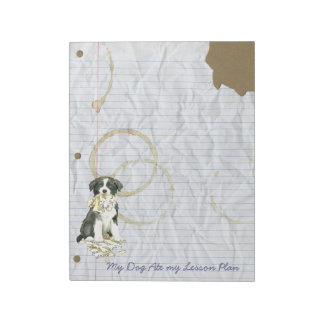 My Border Collie Ate my Lesson Plan Notepad