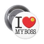 My Boss 6 Cm Round Badge