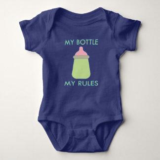 My Bottle My Rules Baby Clothing Baby Bodysuit