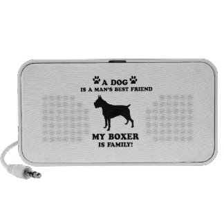 My BOXER family, your dog just a best friend Speaker