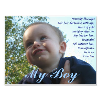 My Boy Photo Print