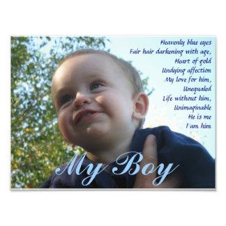 My Boy Photo Print