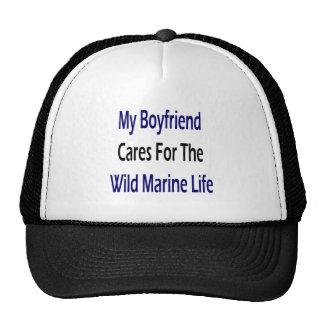 My Boyfriend Cares For The Wild Marine Life Mesh Hat