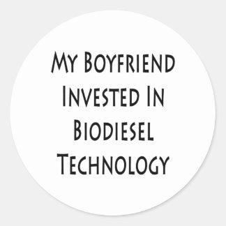 My Boyfriend Invested In Biodiesel Technology Stickers