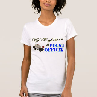 My boyfriend is a Police Officer T-Shirt
