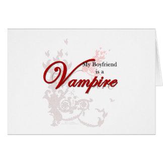My Boyfriend is a Vampire Card